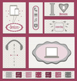 Devices-stickers vector image