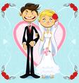 Romantic Wedding vector image