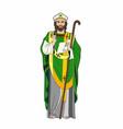 churchman vector image vector image
