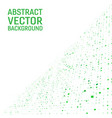 light green color modern geometrical square vector image vector image