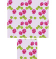pansy background vector image