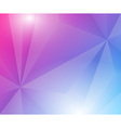 Poligon geometric background vector image vector image