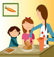 BAKING-WITH-MOM vector image vector image