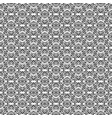 black openwork pattern vector image vector image