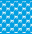 celebration day pattern seamless blue vector image vector image