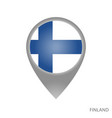 finland point vector image