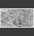 guadalajara mexico city map in retro style vector image vector image