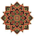 stylized ethnic ornament vector image