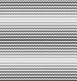Wave gray gradient background seamless pattern vector image vector image