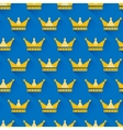 crown seamless pattern vector image