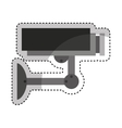 camera cctv isolated icon vector image vector image