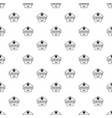 clothes button dress pattern seamless vector image