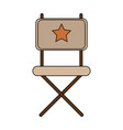 director chair icon image vector image vector image