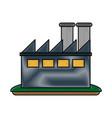 factory plant symbol vector image vector image