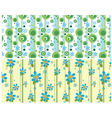 floral web banner vector image vector image