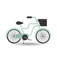 retro bicycle design vector image