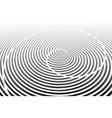 Spiral rotation lines design