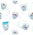 dental texture vector image