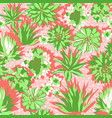 colorful modern tropical design of a lush vector image