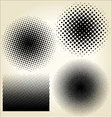 Halftone dots set vector | Price: 1 Credit (USD $1)