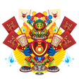 Hungry Ghost Day Festival vector image vector image