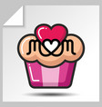 mothers day icons 8 vector image vector image
