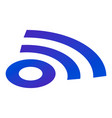 sign wifi icon isometric style vector image vector image