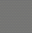 seamless modern pattern with dots vector image