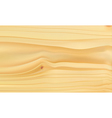 Realistic wood texture with natural pattern vector image