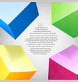 abstract background colored composition vector image vector image