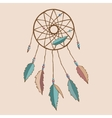 Beautiful indian dreamcatcher vector image