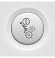 Business Mechanics Icon vector image