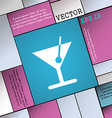 cocktail icon sign Modern flat style for your vector image