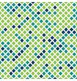 green checkered texture vector image