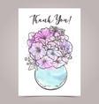 Greeting card designe vector image