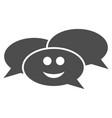 happy webinar flat icon vector image