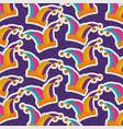 jester hat costume festive pattern design vector image vector image