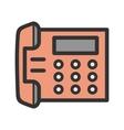 Telephone Set vector image