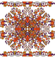 thai art pattern vector image vector image