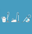 vacuum cleaner icon isolated household appliance vector image vector image