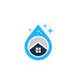 water house logo icon design vector image vector image