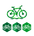 Bike icon design vector image vector image