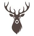 deer symbol vector image