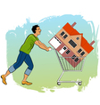 First time homeowner vector image vector image