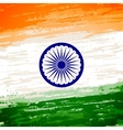 grungy indian flag