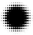 halftone element abstract geometric graphic with vector image