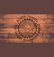 south dakota flag brand vector image vector image