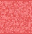 abstract red triangle background geometric vector image vector image