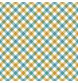 diagonal checkered plaid seamless pattern vector image vector image