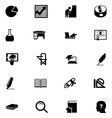 Education Solid Icons 5 vector image